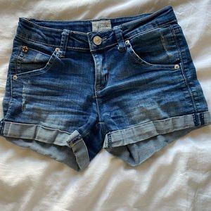 Girls Hudson Jeans shorts